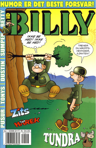 Cover for Billy (Hjemmet / Egmont, 1998 series) #17/2011