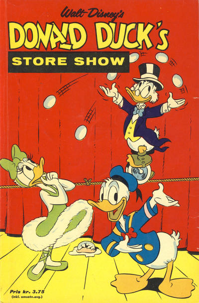 Cover for Donald Duck's Show (Hjemmet, 1957 series) #[10] - Store show [1965]