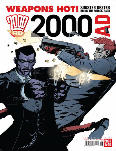 Cover for 2000 AD (Rebellion, 2001 series) #1748