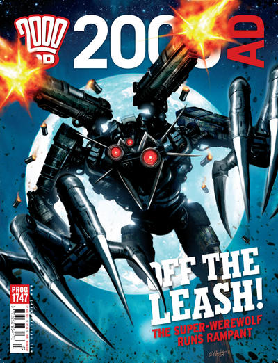 Cover for 2000 AD (Rebellion, 2001 series) #1747