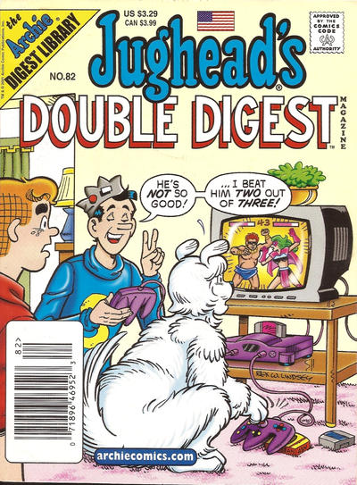 Cover for Jughead's Double Digest (Archie, 1989 series) #82