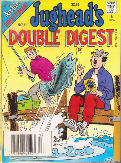Cover for Jughead's Double Digest (Archie, 1989 series) #31