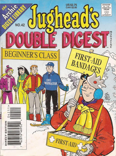 Cover for Jughead's Double Digest (Archie, 1989 series) #42