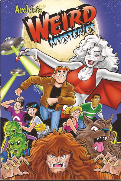 Cover for Archie's Weird Mysteries (Archie, 2011 series) #[nn]