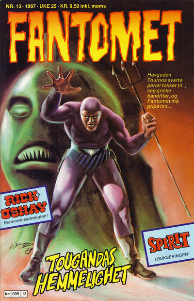 Cover for Fantomet (Semic, 1976 series) #13/1987