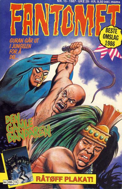 Cover for Fantomet (Semic, 1976 series) #15/1987