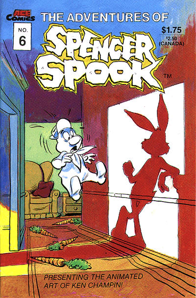 Cover for The Adventures of Spencer Spook (A.C.E. Comics, 1986 series) #6