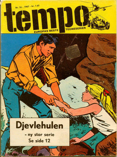 Cover for Tempo (Hjemmet / Egmont, 1966 series) #16/1967