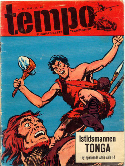 Cover for Tempo (Hjemmet / Egmont, 1966 series) #21/1967
