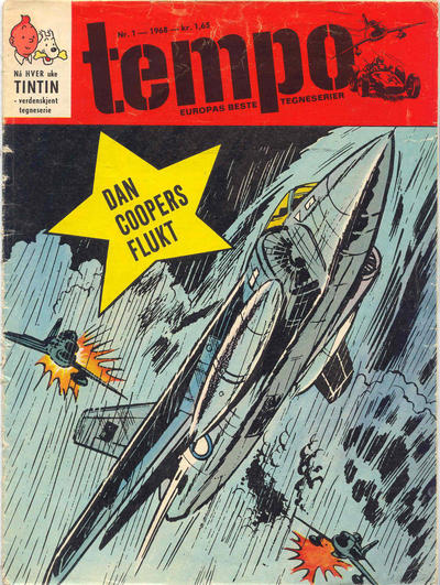 Cover for Tempo (Hjemmet / Egmont, 1966 series) #1/1968