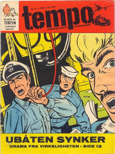 Cover for Tempo (Hjemmet / Egmont, 1966 series) #4/1968