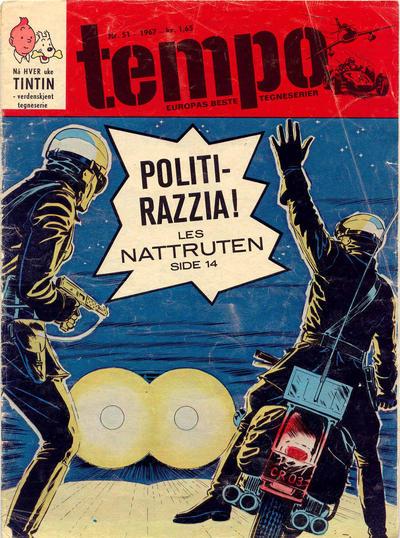 Cover for Tempo (Hjemmet / Egmont, 1966 series) #51/1967