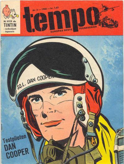 Cover for Tempo (Hjemmet / Egmont, 1966 series) #2/1968