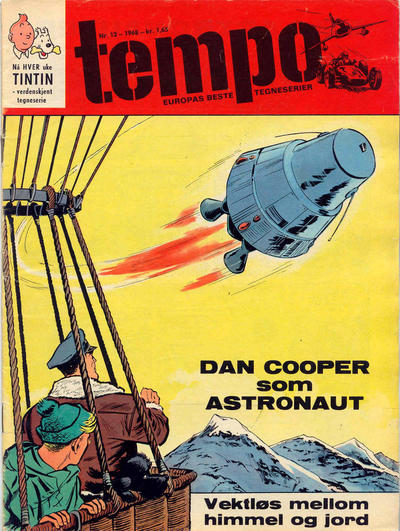 Cover for Tempo (Hjemmet / Egmont, 1966 series) #12/1968