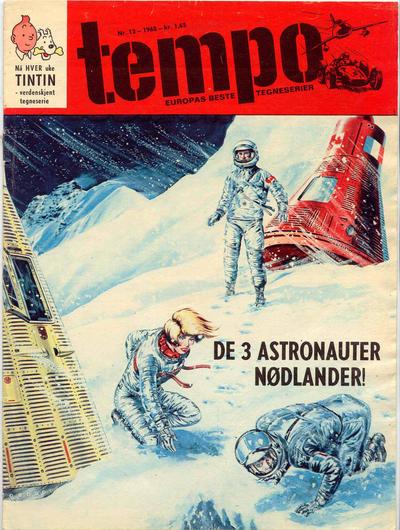 Cover for Tempo (Hjemmet / Egmont, 1966 series) #13/1968