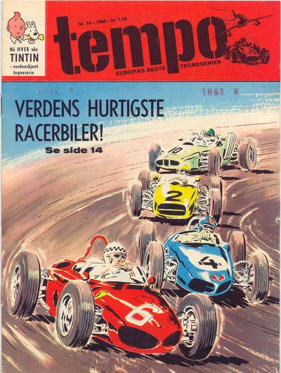 Cover for Tempo (Hjemmet / Egmont, 1966 series) #14/1968