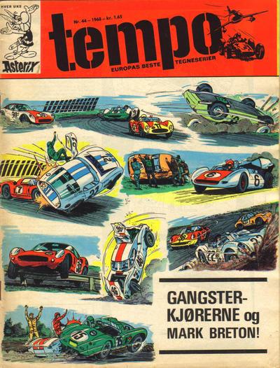Cover for Tempo (Hjemmet / Egmont, 1966 series) #44/1968