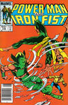 Cover for Power Man and Iron Fist (Marvel, 1981 series) #106 [Newsstand Edition]
