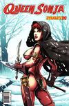 Cover for Queen Sonja (Dynamite Entertainment, 2009 series) #20 [Patrick Berkenkotter Cover]