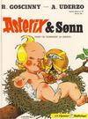 Cover for Asterix [hardcover] (Hjemmet / Egmont, 1984 series) #27 - Asterix & Sønn