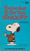 Cover for You've Got to Be You, Snoopy (Crest Books, 1971 series) #M2705