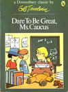 Cover for Dare to Be Great, Ms. Caucus (A Doonesbury Book) (Holt, Rinehart and Winston, 1975 series) #[nn] [$3.95]