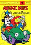 Cover for Walt Disney's månedshefte (Hjemmet / Egmont, 1967 series) #9/1967