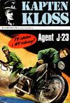 Cover for Kapten Kloss (Semic, 1971 series) #1 - Agent J-23