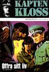 Cover for Kapten Kloss (Semic, 1971 series) #3 - Offra sitt liv
