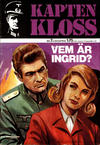 Cover for Kapten Kloss (Semic, 1971 series) #7 - Vem är Ingrid?