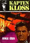 Cover for Kapten Kloss (Semic, 1971 series) #6 - Hemlig lösen