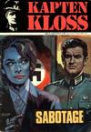 Cover for Kapten Kloss (Semic, 1971 series) #4 - Sabotage