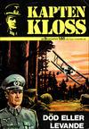 Cover for Kapten Kloss (Semic, 1971 series) #9 - Död eller levande