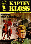 Cover for Kapten Kloss (Semic, 1971 series) #10 - Kuriren från London