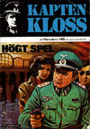 Cover for Kapten Kloss (Semic, 1971 series) #11 - Högt spel