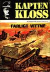 Cover for Kapten Kloss (Semic, 1971 series) #19 - Farligt vittne
