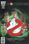 Cover for Ghostbusters (IDW, 2011 series) #1 [R1A Incentive Dan Schoening Who Ya Gonna Call Variant Cover]