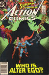Cover Thumbnail for Action Comics (1938 series) #570 [Newsstand]