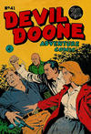 Cover for Devil Doone Adventure Comic (K. G. Murray, 1962 ? series) #41