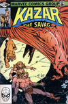Cover Thumbnail for Ka-Zar the Savage (1981 series) #6 [Direct Edition]