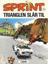 Cover for Sprint (Semic, 1986 series) #15 - Trianglen slår til