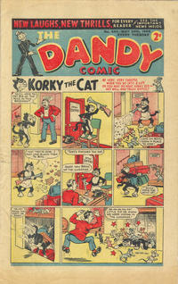 Cover Thumbnail for The Dandy Comic (D.C. Thomson, 1937 series) #443
