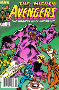 Cover Thumbnail for The Avengers (Marvel, 1963 series) #244 [Newsstand Edition]