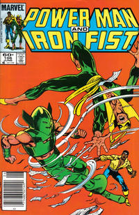 Cover Thumbnail for Power Man and Iron Fist (Marvel, 1981 series) #106 [Newsstand Edition]