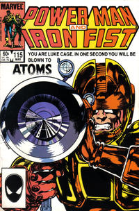 Cover Thumbnail for Power Man and Iron Fist (Marvel, 1981 series) #115 [Direct Edition]