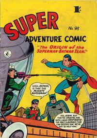 Cover Thumbnail for Super Adventure Comic (K. G. Murray, 1950 series) #98