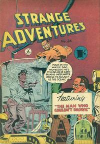 Cover Thumbnail for Strange Adventures (K. G. Murray, 1954 series) #24