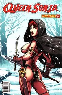 Cover Thumbnail for Queen Sonja (Dynamite Entertainment, 2009 series) #20 [Patrick Berkenkotter Cover]