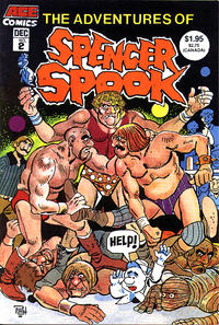 Cover Thumbnail for The Adventures of Spencer Spook (A.C.E. Comics, 1986 series) #2