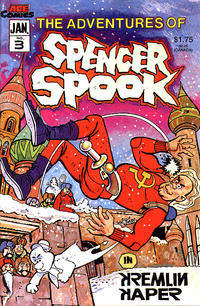 Cover Thumbnail for The Adventures of Spencer Spook (A.C.E. Comics, 1986 series) #3
